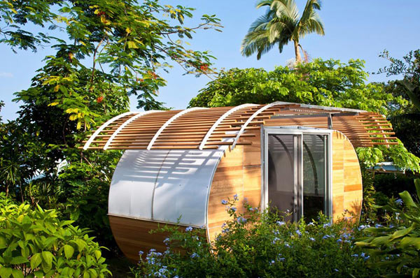 small smart sustainable modular home 7 Small, Smart and Sustainable modular home makes a sweet retreat