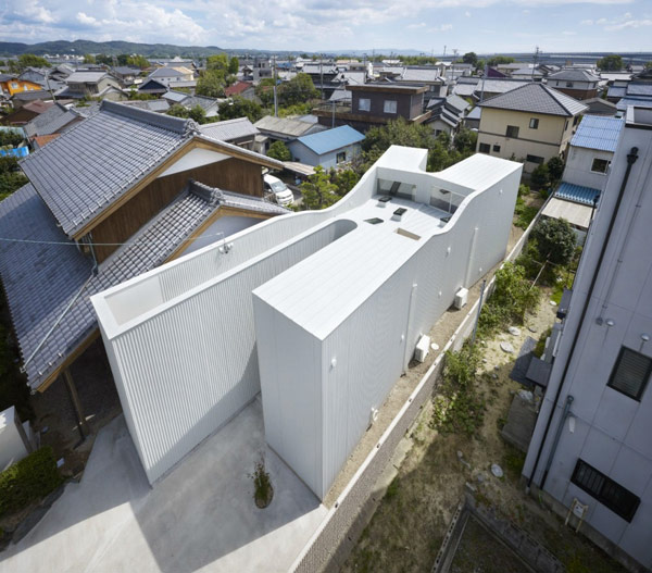 social house architecture x 3 Social House Architecture – X marks the spot
