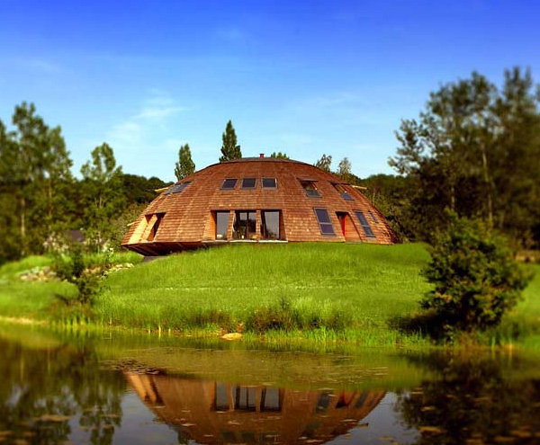 solaleya dome house 1 Modern Dome Home – Sustainable Solaleya Dome Design