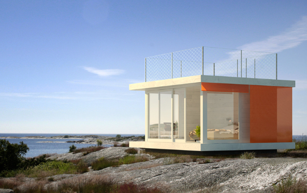 sommarnojen house 1 Compact Cabins Double as Guest Houses, Studios and Saunas!