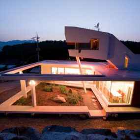 South Korea Zen House with Seven Private Gardens