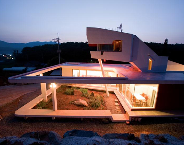 Korea Home Design Enchanting South Korea Zen House With Seven Private Gardens