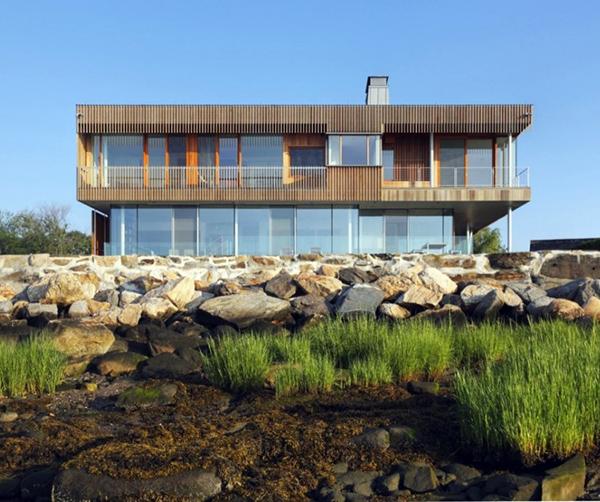 spiral house architecture on beach 2 Spiral House Architecture on the Beach