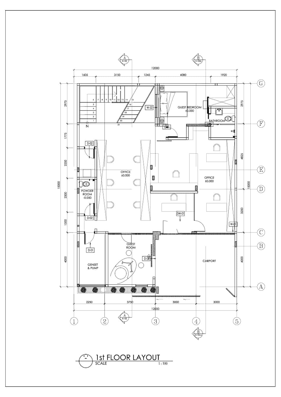 First Floor Plan: View In Gallery Split House  With Dual Personality For Living And