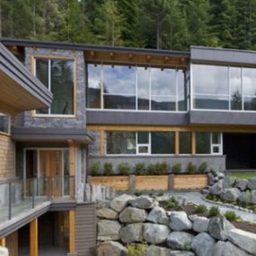 Magnificent Modern Mountain Home in Whistler, British Columbia