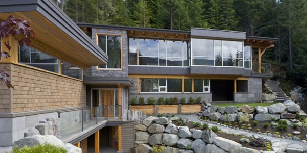 spring creek residence 1 Magnificent Modern Mountain Home in Whistler, British Columbia
