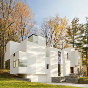 "Staggered ""Salt"" House brings out the flavor of Maryland architecture"