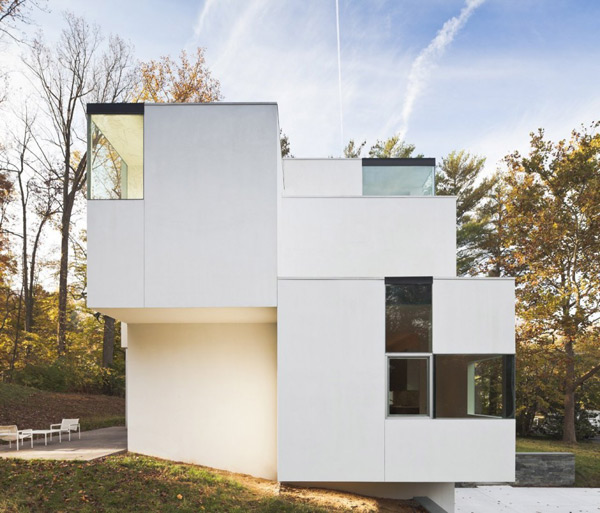 staggered salt house maryland 2 Staggered Salt House brings out the flavor of Maryland architecture