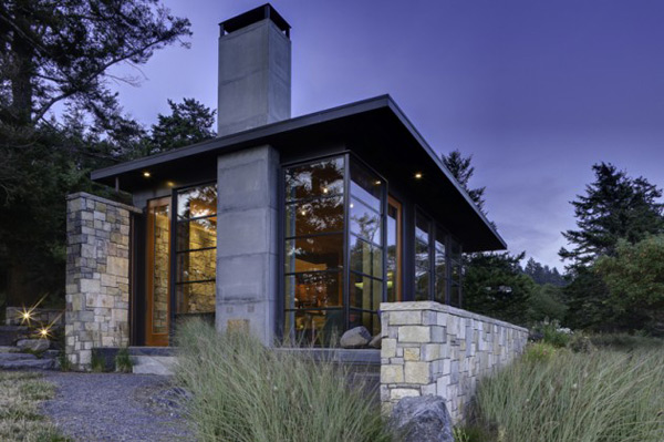 stone home pictures natural bay house 1 Stone Home Pictures – Natural Design by Prentiss Architects