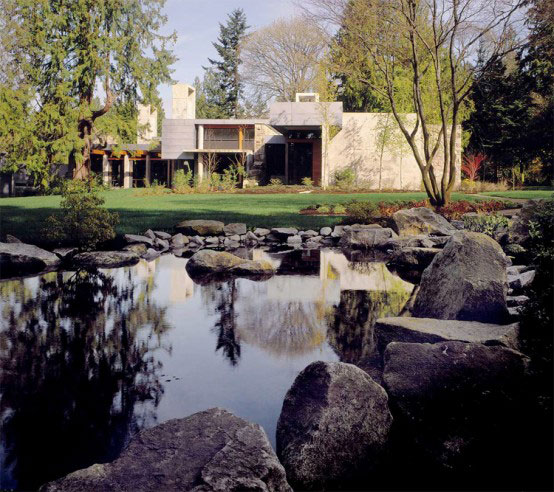 stone house modern and earthy design 1