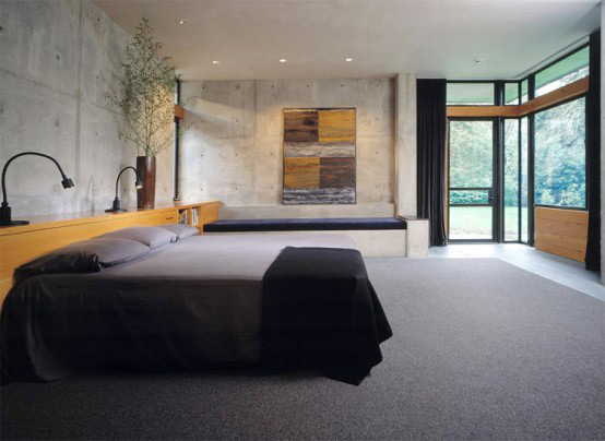 stone house modern and earthy design 5