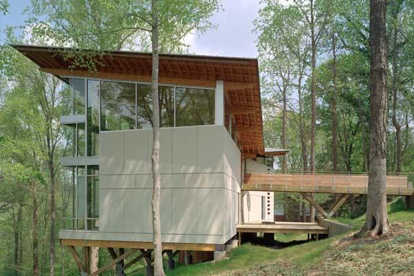 strickland ferris residence 2 Modern Tree House – Strickland Ferris Residence
