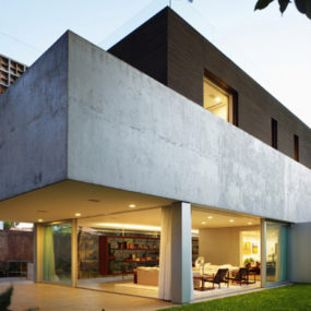 Stylish Home Design in Sao Paulo, Brazil – a rooftop deck, a lap pool and a cool basement