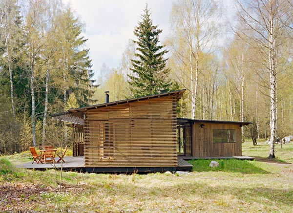 summer cabin design wrb 1 Summer Cabin Design   Award winning Wood House by WRB