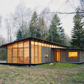 Summer Cabin Design – Award-winning Wood House by WRB