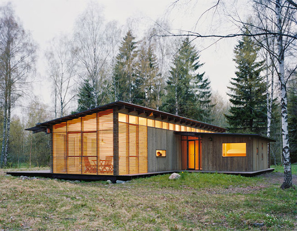 summer cabin design wrb 5 Summer Cabin Design   Award winning Wood House by WRB