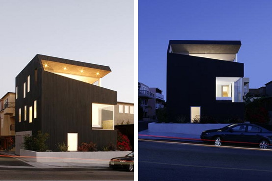 Minimalist Home Design in California – Open House Concept