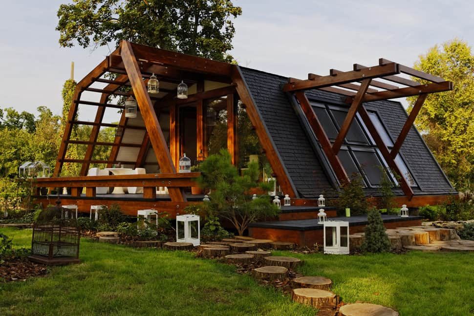 Smart prefab design from romania for Sustainable homes design