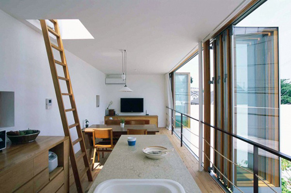 takeshi hosaka architects garden house 5 Takeshi Hosaka Architects Garden House