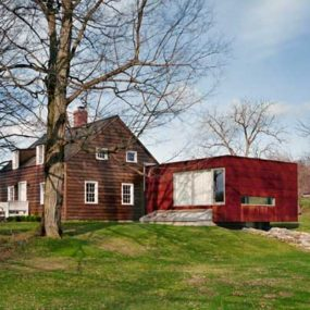 Traditional Cottage with a Modern Addition – Ten Broeck Cottage in Columbia County, NY