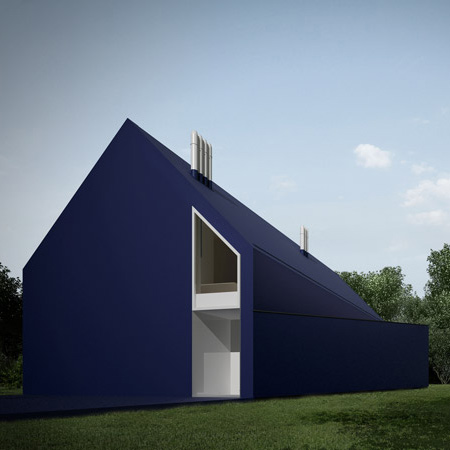 thermopian house 2 Polish Modern Architecture   Plastic House in Lodz, Poland