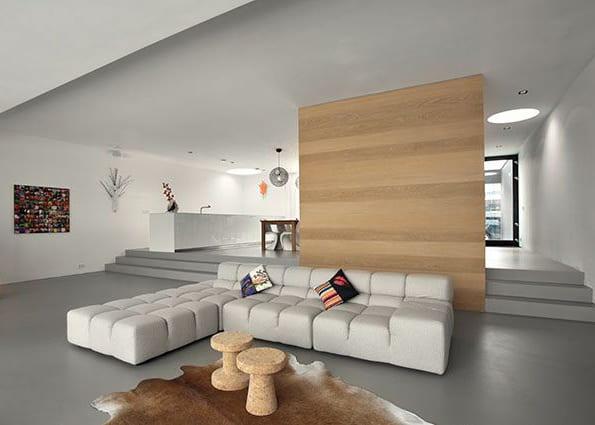 three floor house design disguised as single storey 3