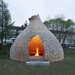 Timber Home Designs: Fireplace Feature House
