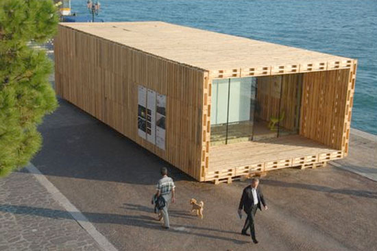 timber home designs innovative sustainable house 4 Recycled Wood Pallets Home