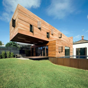 Modern Timber Home – Cool Wood Addition