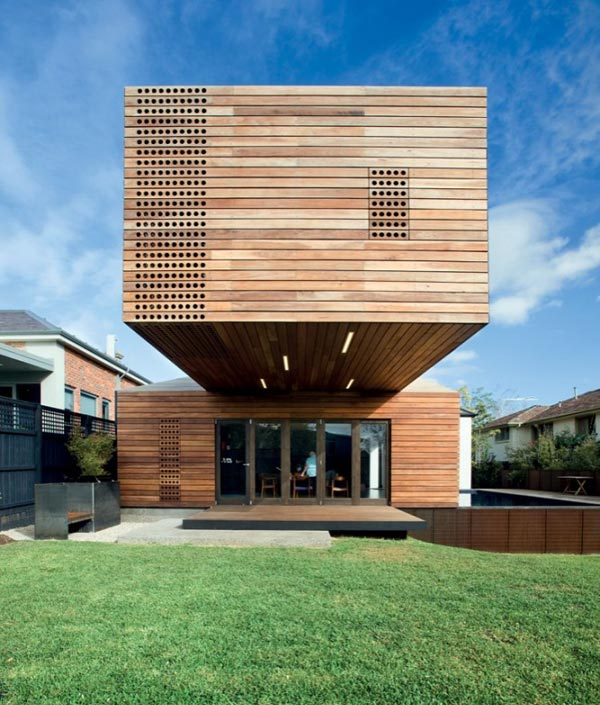 Home Design Addition Ideas: Cool Wood Addition