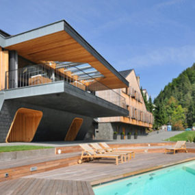 7 Progressive Architecture U2013 Timber And Stone Two Homes In One Design