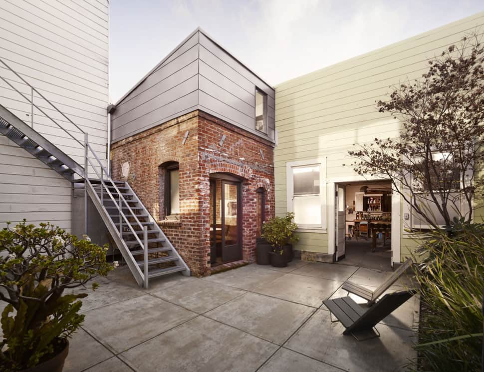 Industrial Style Homes | Tiny Industrial Style Guest House Conversion
