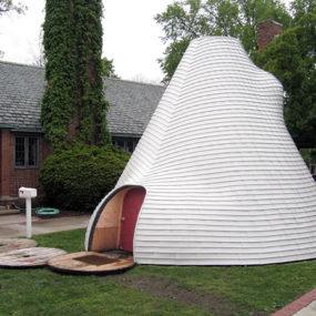 Modern Tipi Design – Suburban Tipi by John Paananen