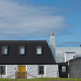 Traditional Scottish Cottage Reinvented With Chic Agricultural-Industrial Flair
