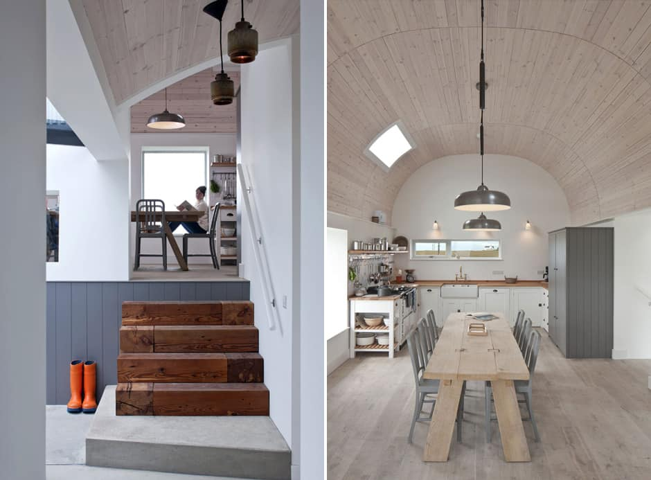 View In Gallery Traditional Scottish Cottage Reinvented With Chic Agricultural Industrial
