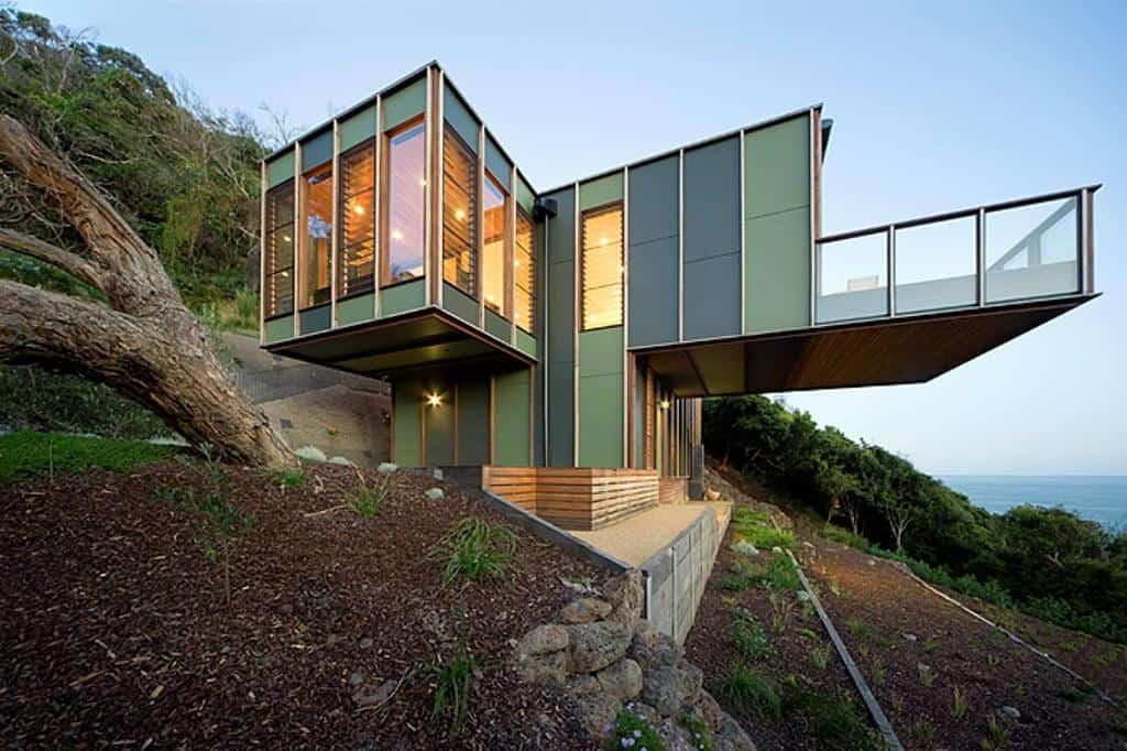 Tree Shaped House in Separation Creek, Australia