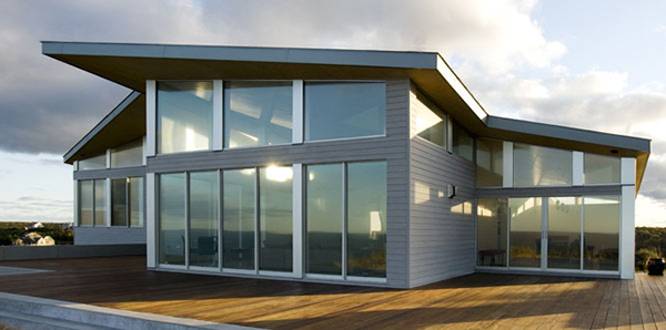 truro beach house 1 Modern Beach House on Cape Cod in Truro, MA   Sustainable Energy Star Certified Home