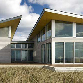 Modern Beach House on Cape Cod in Truro, MA – Sustainable Energy Star Certified Home