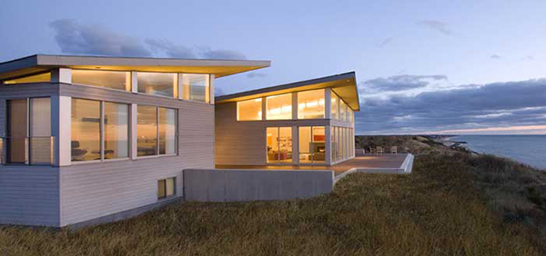 Modern Beach House modern beach house on cape cod in truro, ma - sustainable energy