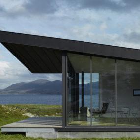 Irish Country House - 'origami' design in North Ireland on ireland house drawings, ireland lifestyle, ireland cottage floor plans,