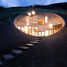 17 Underground Home Designs U2013 Swiss Mountain House Rocks!