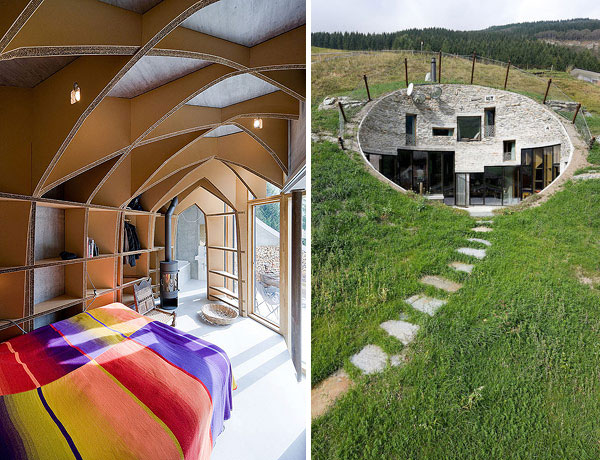 underground home designs swiss mountain house 16