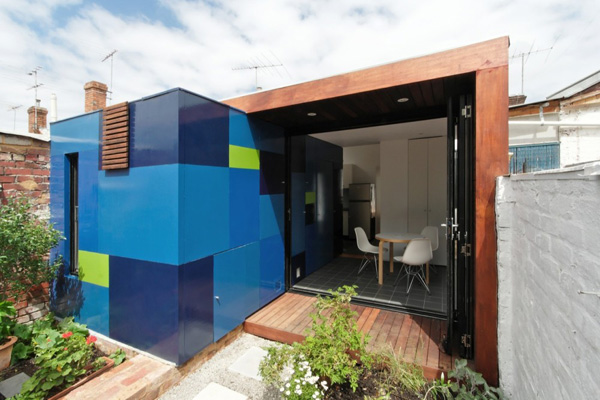 urban cottage homes with the blues 1