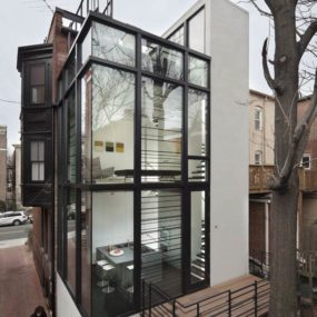 Urban Glass House in Washington, D.C.