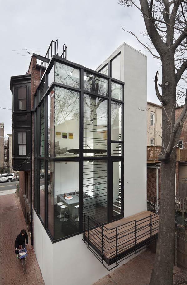 urban glass house washington 1 Urban Glass House in Washington, D.C.