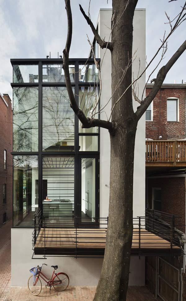 urban glass house washington 2 Urban Glass House in Washington, D.C.