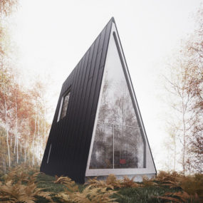 Vacation House Plans – A-Frame