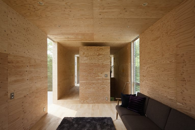 View In Gallery Various Wood Finishes Populate Uniquely Natural  Japanese Home