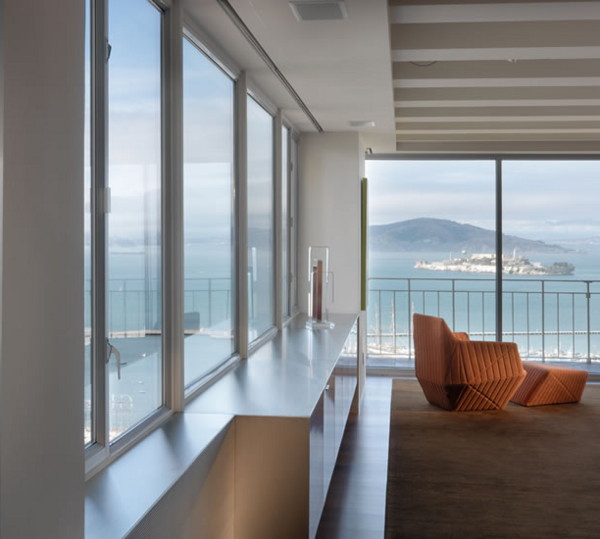 veldt carr apartment 1 Contemporary Loft Design Rivals Spectacular San Francisco Views