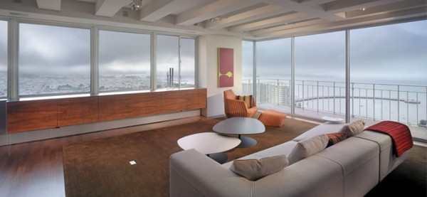veldt carr apartment 2 Contemporary Loft Design Rivals Spectacular San Francisco Views